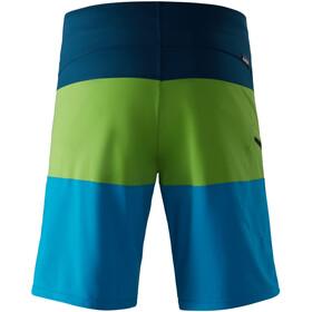 NRS Benny Board shortsit Miehet, blue/green